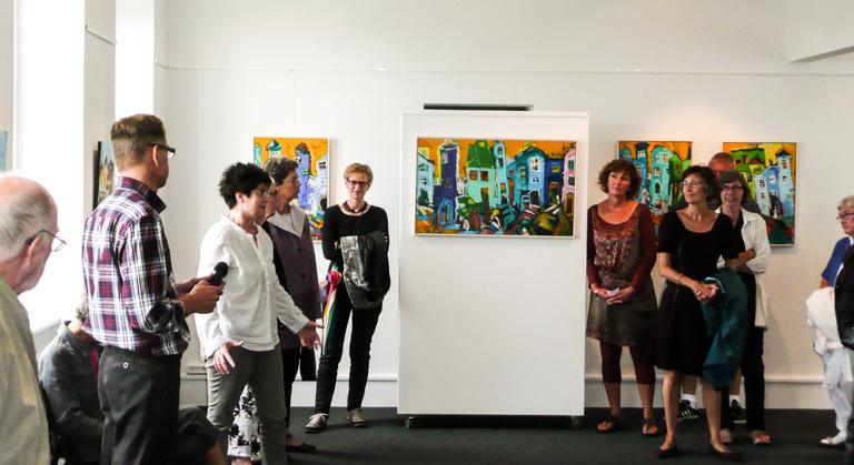 Anette Andersen fortæller om kunst og malerier