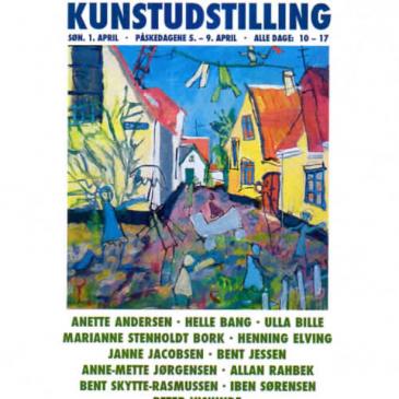 Påskeudstilling Fussingø Slot 2012