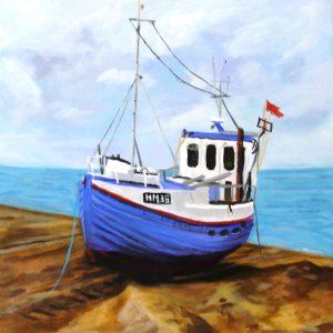 Maleri: HJ191 Måler: 40x40 cm. Pris: 2.400 DKK