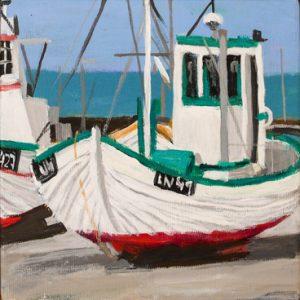 Maleri: HJ160 Måler: 23x23 cm Pris:  1.000 DKK