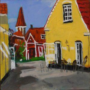 Maleri: HJ159 Måler: 23x23 Pris: 1.000 DKK