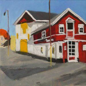 Maleri: HJ161 Måler: 23x23 Pris: 1.000 DKK