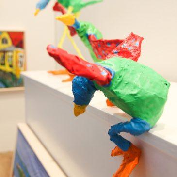 Præmiere på Flyvende Grønskollinger