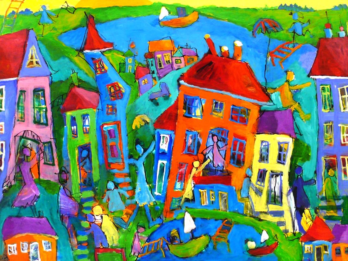 Kunstudstilling Odd Fellow, Ålborg 22.-24. oktober